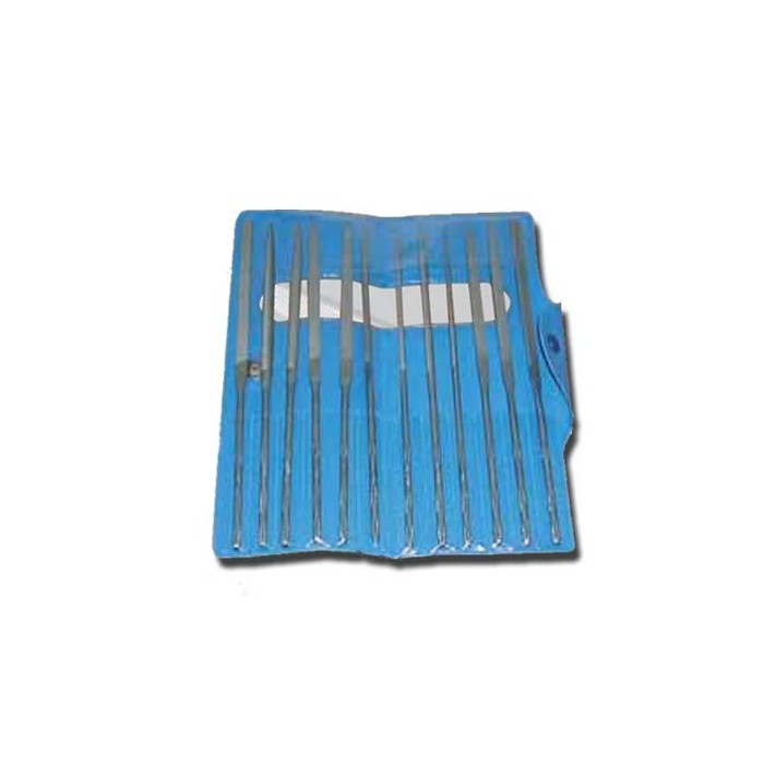 Set of 6 files in pouch