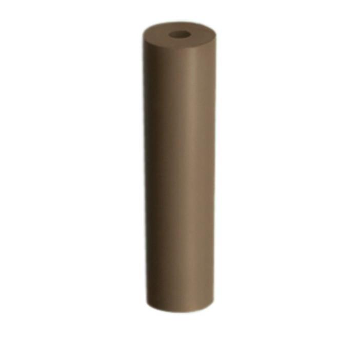 Pulidor cilíndrico marrón abrasivo EDENTA