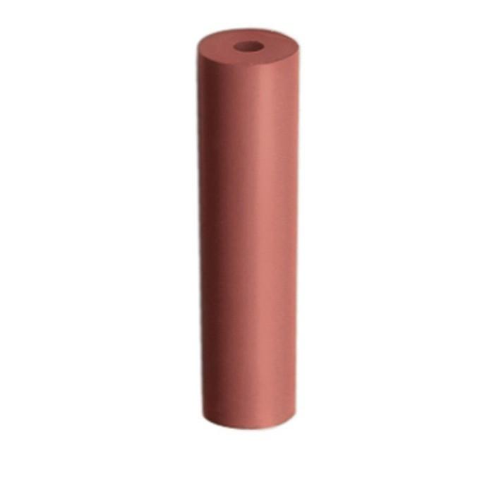 Pulidor cilíndrico rosa abrasivo EDENTA