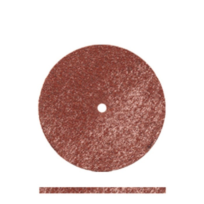 Pulidor disco marrón 22x1 mm