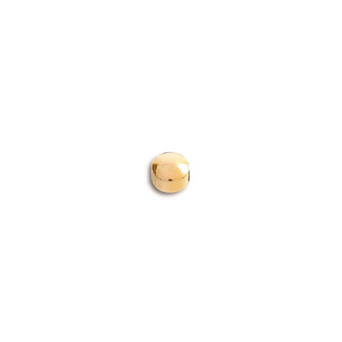 GOLDEN MINI BUTTON STUD