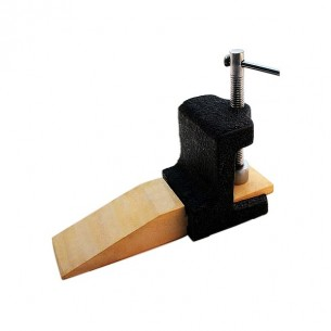 Astilleras de madera con soporte