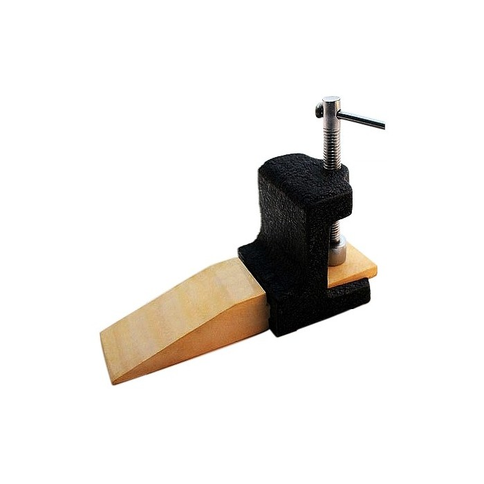 Astillera de madera con soporte