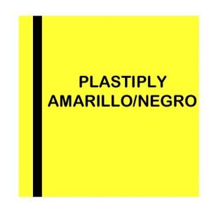 Plastiply Láser 0,2 mm adhesivo Amarillo/Negro