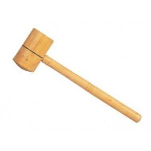 Maza de madera de boj 44 a 55 mm.