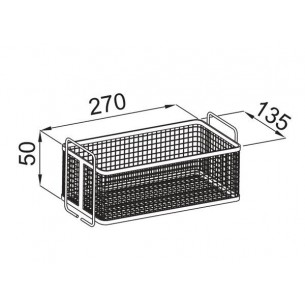 BASKET FOR ULTRASONIC CLEANING MACHINE TCV-500