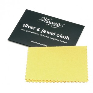 Hagerty mini silver & jewel cloth 9x12 cm.