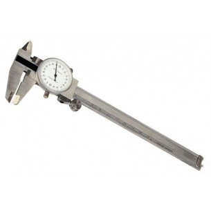 STAINLESS STEEL SLIDING CALIPER WITH SPHERE 15 Cm.