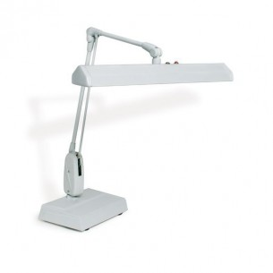 DAZOR LAMP 2 TUBES WITH ON TABLE BASIS