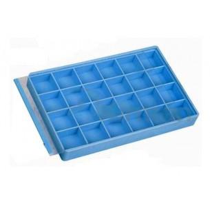 Caja plástico 24 divisiones