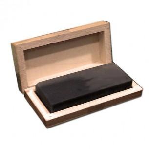 Piedra de toque natural Extra estuche madera