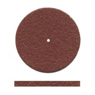 Disco rojo muela Dedeco 22x4 mm.