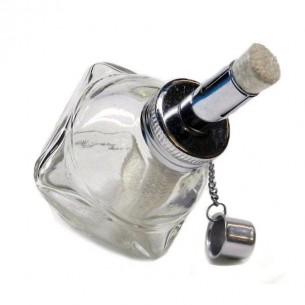 Glass alcohol lamp