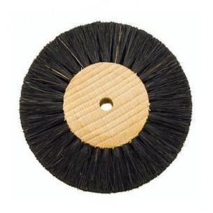 Cepillo cerda negra extra 4H 8 mm.