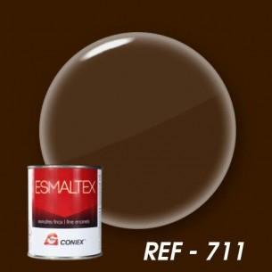 Esmalte bicomponente opaco ESMALTEX Marrón Ajedrez 711 250 g.