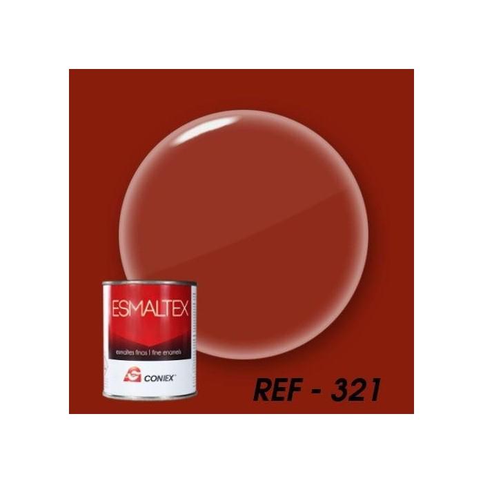 Esmalte bicomponente opaco ESMALTEX  Rojo Escarlata 321 250 g.