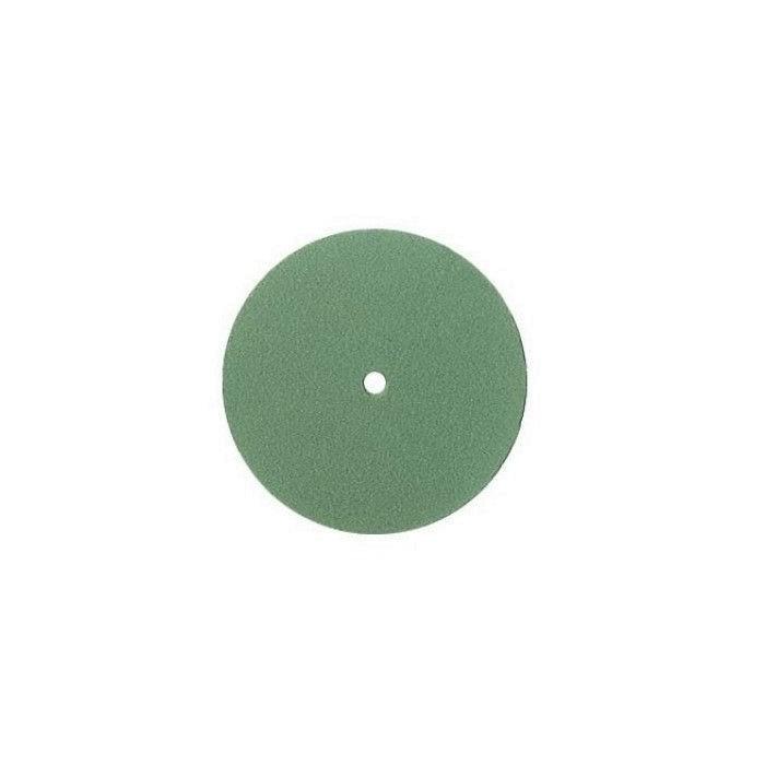 Disco verde para brillo Edenta STEELFLEX 22 mm