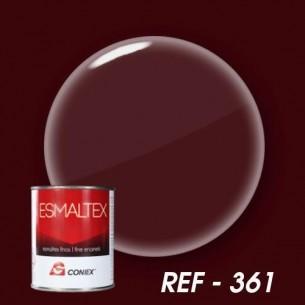 Esmalte bicomponente opaco ESMALTEX Rojo burdeos 361 250 g.
