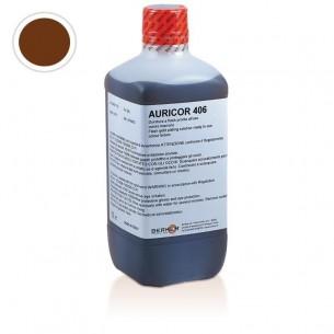 Baño oro AURICOR 406 AU Chocolate 1 lit.