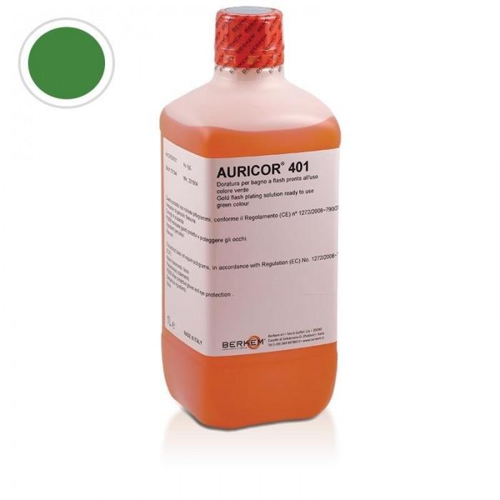 Baño oro AURICOR 406 AU Verde1 lit.