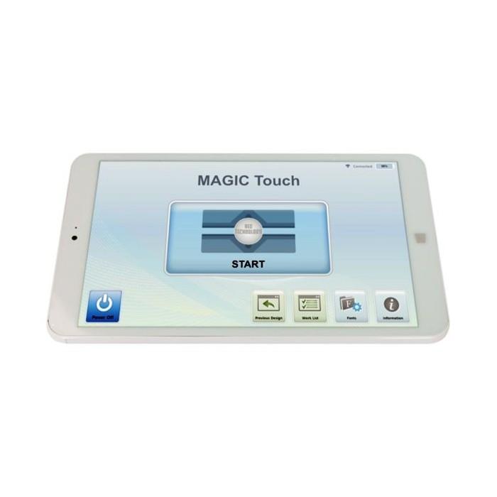Tablet+Software MAGIC ART 5 para máquinas de grabar Magic S
