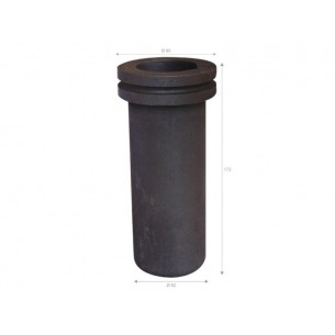 Crisol grafito 3 kg. para horno Graficarbo