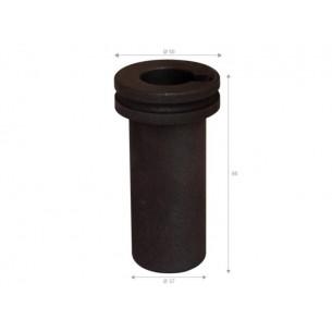 Crisol grafito 0,5 kg. para horno Graficarbo