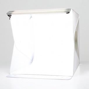 """Caja de luz fotográfica plegable 40x40 cm. luz regulable """"Foldio"""""""