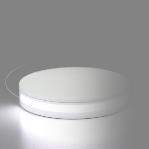 "Base giratoria LED 360º ""Foldio"" 25 cm."