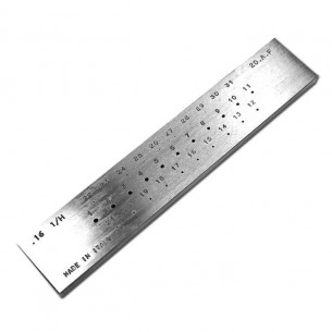 ROUND DRAWPLATES 31 HOLES (2A+FINE)