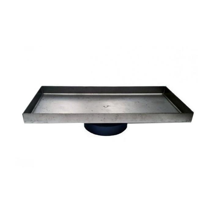 Soporte giratorio rectangular p/ ladrillo refractario