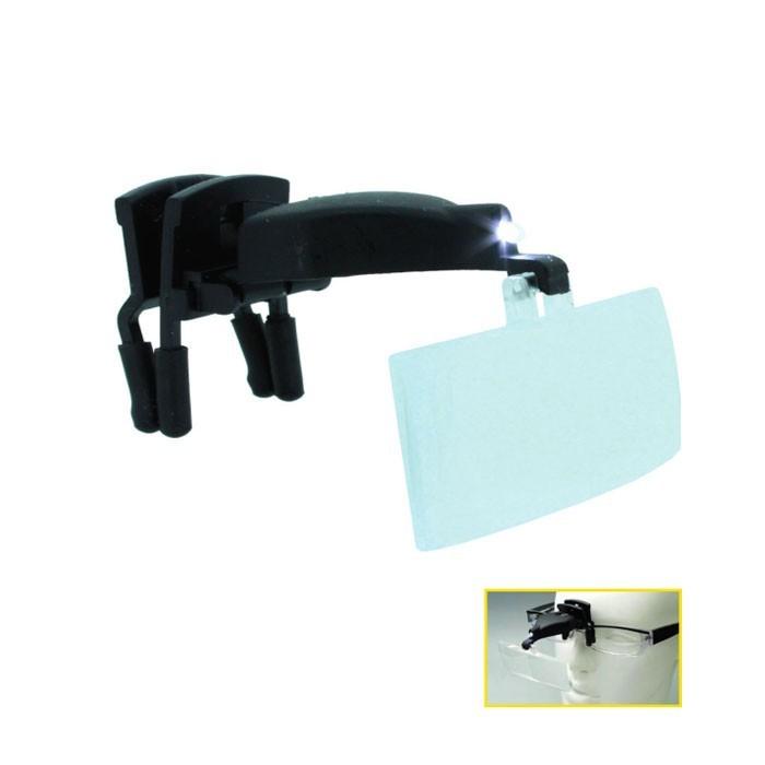 Binocular para gafas luz LED 1,5x, 2,5x, 3,5x