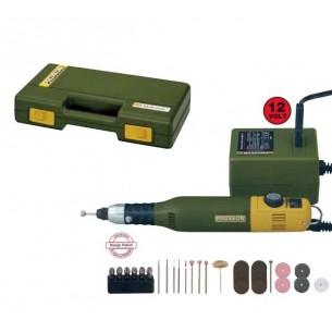 Conjunto taladro Proxxon MICROMOT 50/E fresadora+34 herramientas