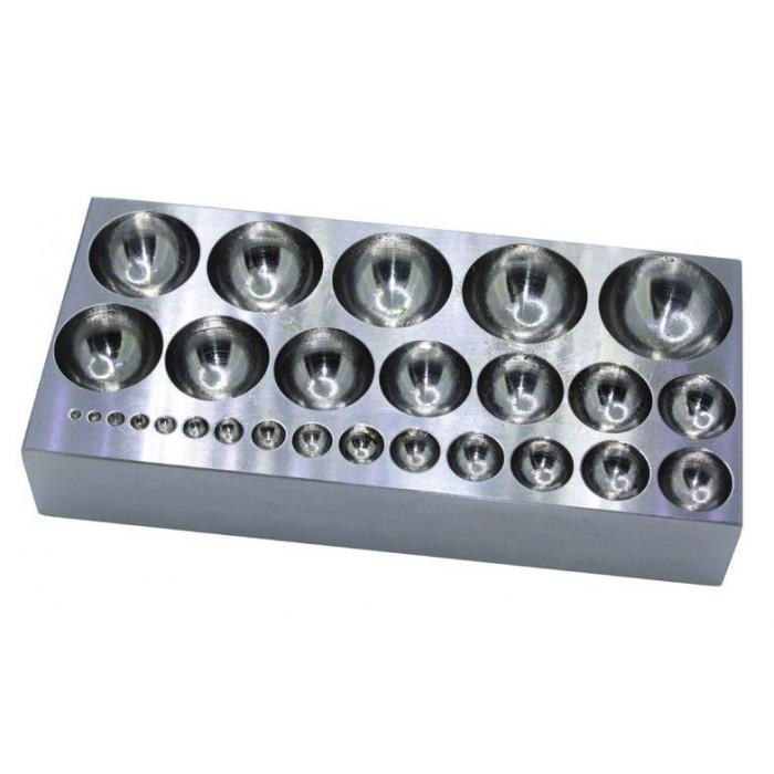 Embutidora de acero base rectangular