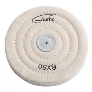 Disco algodón blanco Hatho 50 capas 150x15 mm