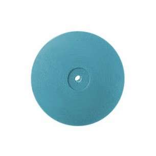 Pulidor lenteja azul de goma Edenta Titanium