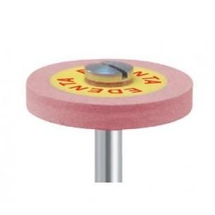Disco montado Stargloss Edenta abrasivo rosa