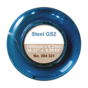Hilo de acero GS2 dureza 58HRC 100 cm. x0 ,2 mm
