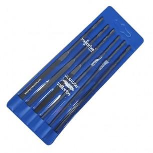 Juego de limatones 160mm/ picado 2 formas surtidas