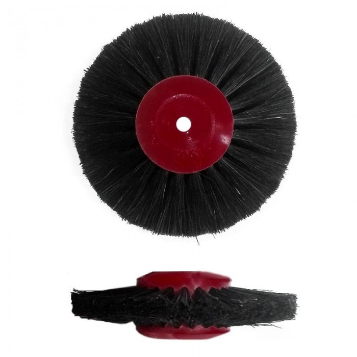 Cepillo Astro cerda negra D40x23,5 plástico 4 hileras