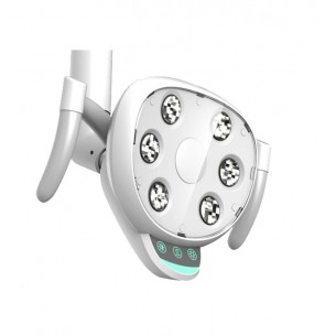 Lámpara LED 4000 LUX con brazo y columna