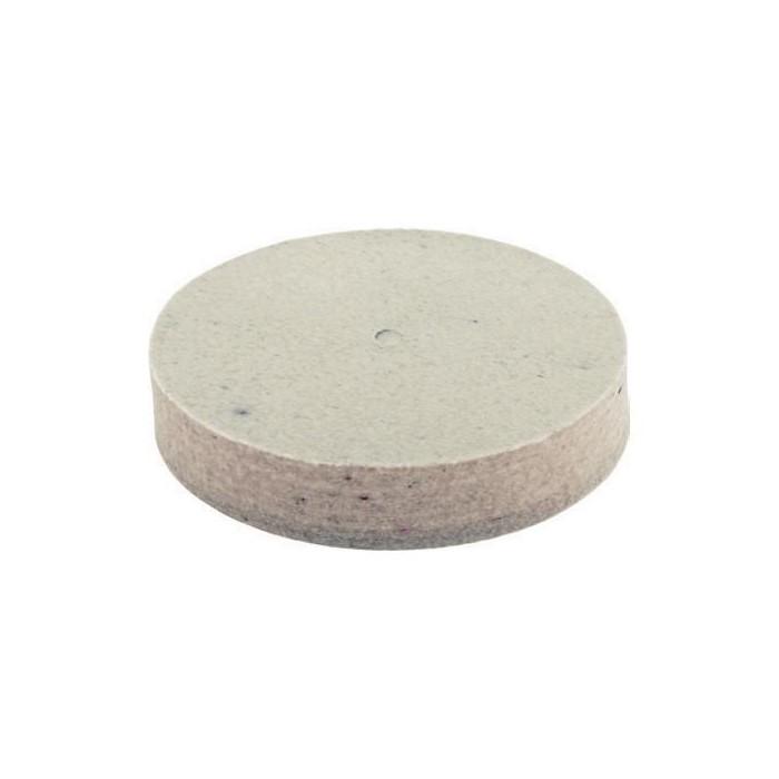 Disco de fieltro con agujero D 40x10 mm.