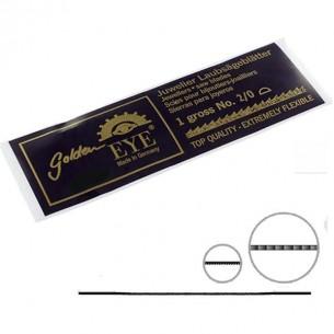 """Pelos de sierra """"Golden Eye"""" 2/0 130 mm. 1 gruesa"""