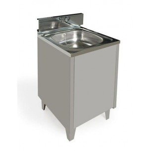 WASHBASIN 1 SINK INOX 220V