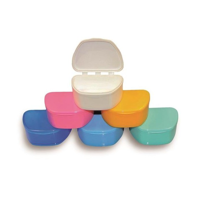 Caja portaprótesis altura standard (480 unidades.) colores surtidos