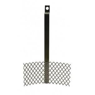 Ánod titanio platinado para Galvalink 10x5 cm.