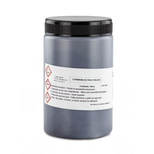 Carbón activo Technoflux 300 g.