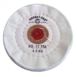 Disco de tela de algodón 100mm 60 capas Grobet Usa 17.758