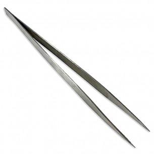 Pinza lisa larga 18 cm punta media
