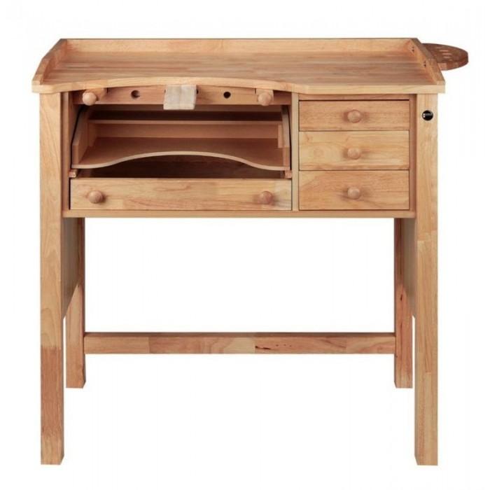 Mesa de trabajo Durston Tools 1 puesto madera maciza